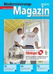 Fenster für Neubau und Modernisierung - Hilzinger