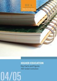 section 1 - Higher Education Authority