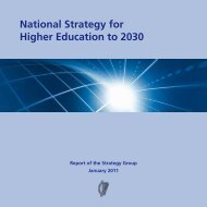 National Strategy for Higher Education to 2030