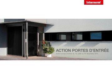 l'action en PDF. - Internorm
