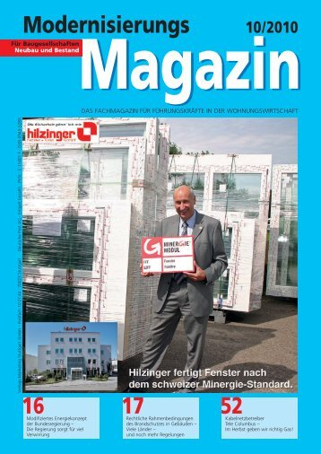 Modernisierungs - Hilzinger