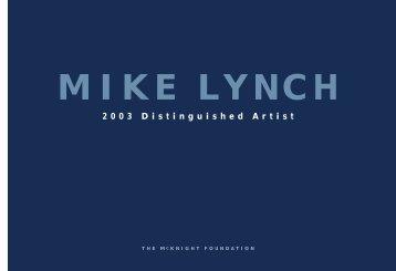 MIKE LYNCH - McKnight Foundation