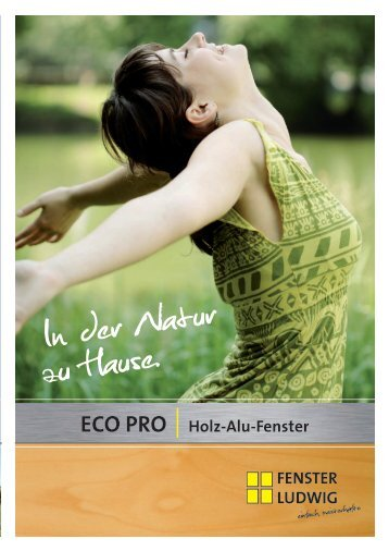 ECO PRO Holz-Alu-Fenster - Fenster Ludwig