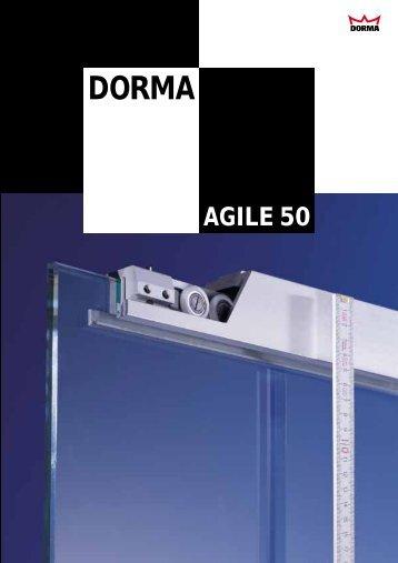 Sliding Door Systems AGILE 50 - Glas Sieben