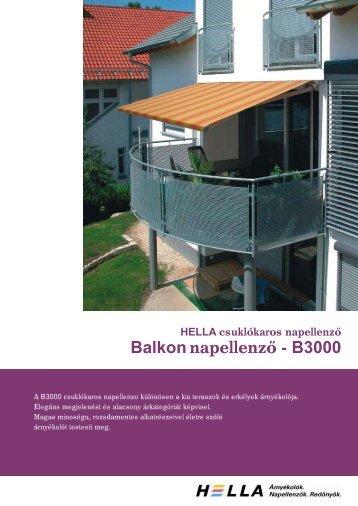 Balkonnapellenz - B3000