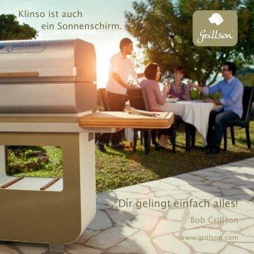BBQ Holzpelletgrill CH-Prospekt - KLINSO GmbH