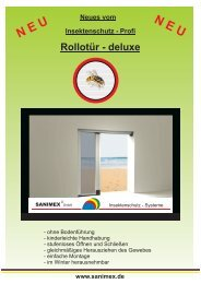Prospekt Plissee B.cdr - Sanimex GmbH