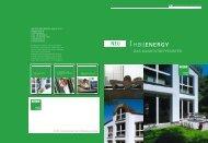 Kunststoff Fenster - HBI Holz-Bau-Industrie GmbH & Co. KG