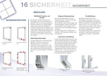 16 SICHERHEITSICHERHEIT - niko-fenster