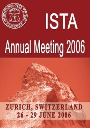 OM2006 1st Announcement.indd - International Seed Testing ...