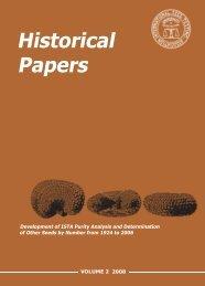 Historical Paper - Volume 2 2008 - International Seed Testing ...