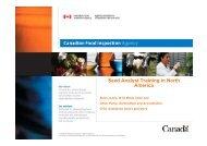 Seed Analyst Training in North America - International Seed Testing ...