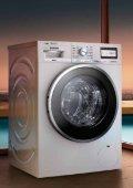 Catálogo de máquinas de lavar e de secar roupa. - Siemens - Page 6
