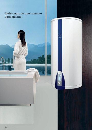 Muito mais do que somente água quente. - Siemens Home Appliances