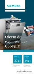 Oferta de experiências Coolgift! - Siemens