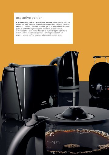 executive edition - Siemens Home Appliances