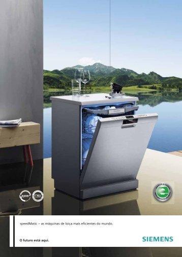 O futuro está aqui. speedMatic – as máquinas de loiça ... - Siemens
