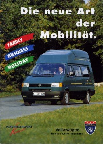 Prospekt Karuso - bei Karmann Mobil