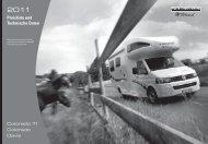 Gesamtpreisliste Dezember 2010, deutsch - bei Karmann Mobil