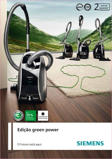 Edição green power - Siemens Home Appliances