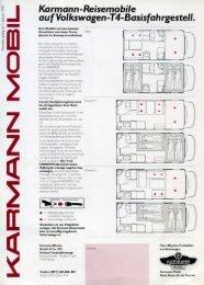 Preisliste Basisfahrgestell T4 - bei Karmann Mobil