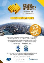 REGISTRATION FORM - Australian Building Codes Board