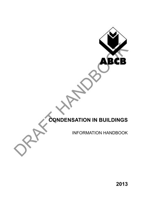 Condensation in Buildings - Australian Building Codes Board