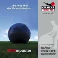 ECOmposter - Prospekt - Deutsch - Clemens HobbyTec GmbH