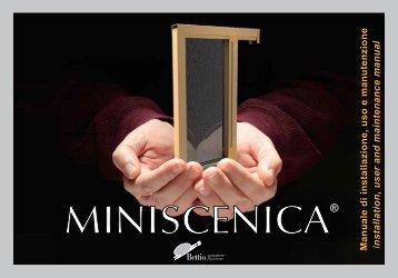 Manuale di installazione, uso e manutenzione I ... - Bettio Zanzariere