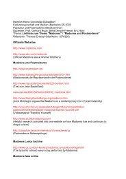 Linkliste Madonna - horn-netz.de