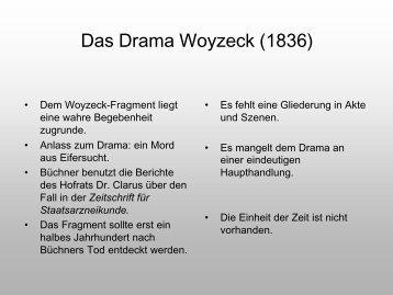 Präsentation Woyzeck - horn-netz.de