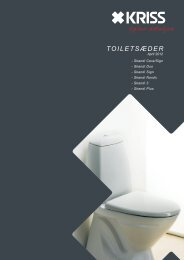 ToileTsæder - Kriss AS