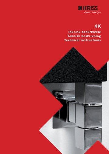 Teknisk beskrivelse Teknisk beskrivning Technical ... - Kriss AS