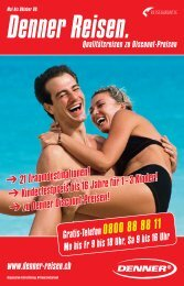 All inclusive - bei Denner Reisen
