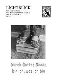 Sonntag, 3. Juni ab 11 Uhr - Evangelische Kirche der Pfalz