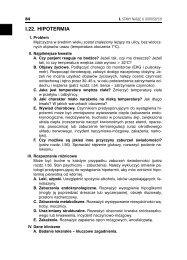 I.22. HIPOTERMIA - Wydawnictwo Lekarskie PZWL