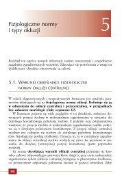 Fizjologiczne normy i typy okluzji