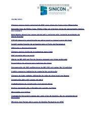 16/06/2011 Câmara aprova texto principal do RDC para ... - SINICON