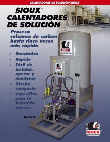 SIOUX® CALENTADORES DE SOLUCIÓN