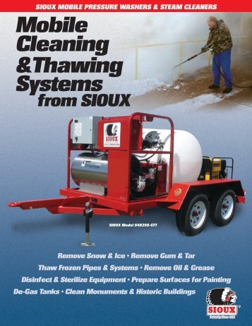 Mobile Cleaning and Thawing Systems Brochure - Sioux Steam ...