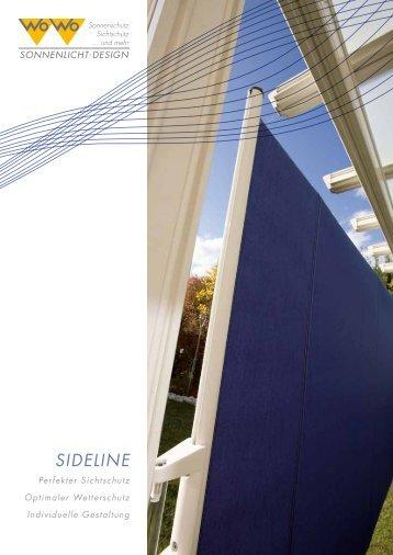 Prospekt Sideline - Staufer.net