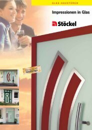 Impressionen in Glas - Stöckel GmbH