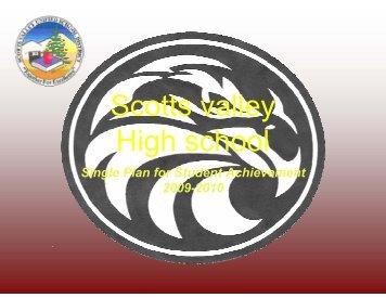 Scotts valley High school - Scotts Valley Unified Schools