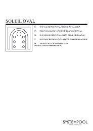 SOLEIL OVAL - Pre e Instalacion - Systempool