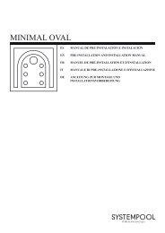 MINIMAL OVAL - Pre e Instalacion - Systempool