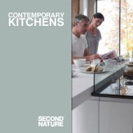 contemporary kitchens - Tilbrook Interiors