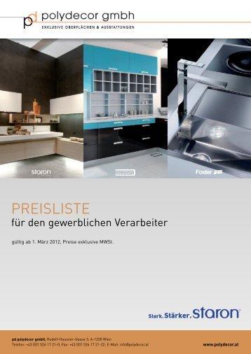 01 Staron Preisliste 2012.pdf - Tschabrun