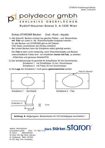 Einbau STARON Becken tiefgezogen.pdf - Tschabrun