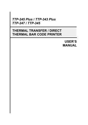 Tsc printers manuals, setup guides & drivers.