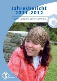 Jahresbericht 2011-2012 - Tuberöse Sklerose Deutschland eV
